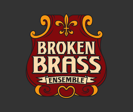 Broken Brass Ensemble design work