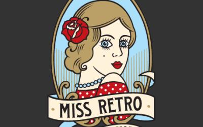 Miss Retro logo design