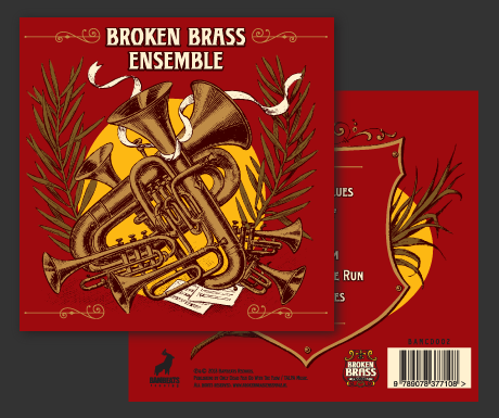 Broken Brass Ensemble CD
