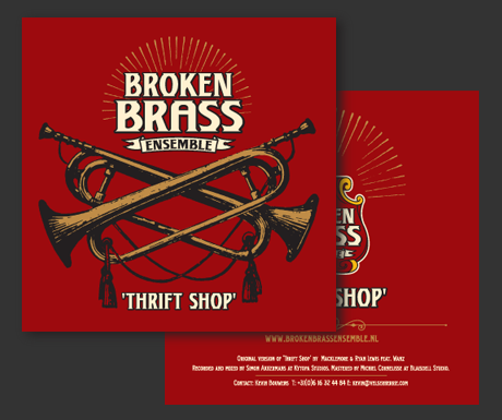 Broken Brass Ensemble – Thrift Shop (Macklemore & Ryan Lewis)