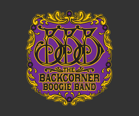 Logo design Backcorner Boogie Band