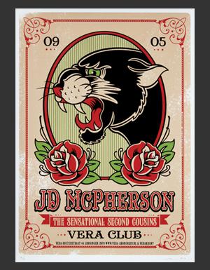 JD McPherson poster