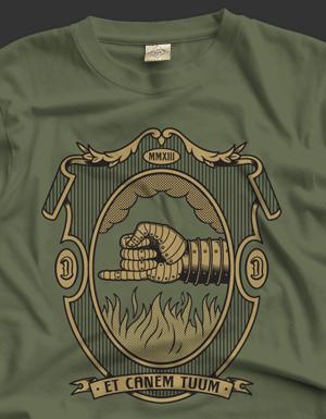 T-Shirt Et Canem Tuum