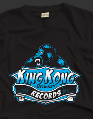 T-Shirt King Kong Records Leeuwarden