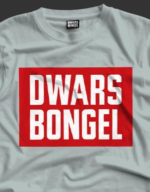 T-Shirt Dwarsbongel Logo