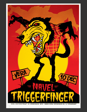 Triggerfinger and Navel poster