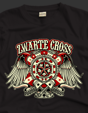 T-shirt designs Zwarte Cross festival