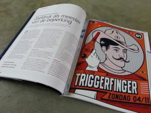 Artikel, Publish, Triggerfinger, Poster