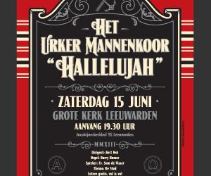 "Urker Mannenkoor ""Hallelujah"" & CH2018 & GoSterk"