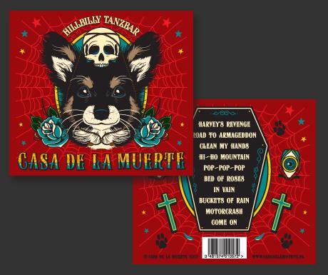 Casa de la Muerte album artwork voor 'Hillbilly Tanzbar'